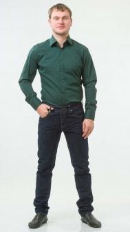 Рубашка мужская SORBINO Зеленый