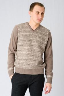 Пуловер мужской GLENFIELD Коричневый