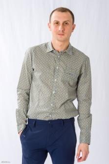 Рубашка муж. ALTATENSIONE Uomo Бежевый