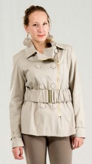 Куртка женская Sasch Бежевый