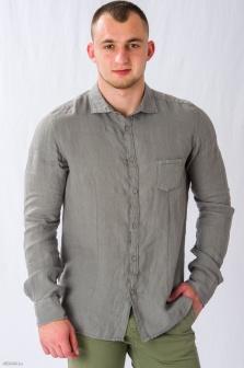 Рубашка муж. ALTATENSIONE Uomo Серый