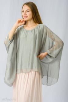 Блуза женская GLENFIELD Голубой