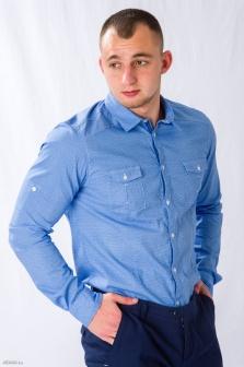 Рубашка муж. ALTATENSIONE Uomo Голубой