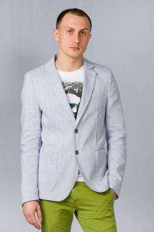Пиджак мужской ALTATENSIONE Uomo Синий