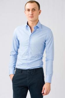 Рубашка мужская SORBINO Голубой