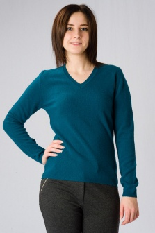 Пуловер женский GLENFIELD Аквамарин