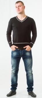 Пуловер мужской Sasch Черный