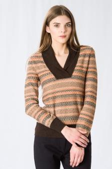 Пуловер женский GLENFIELD Оранжевый