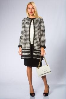 Пальто женское WEILL Черно-белый
