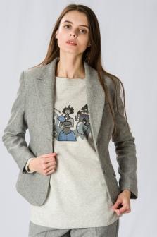 Пиджак женский GLENFIELD Серый