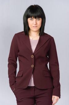 Пиджак женский GLENFIELD Фиолетовый
