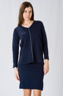 Пуловер женский GLENFIELD Синий