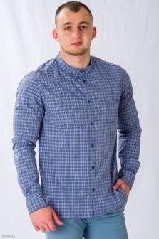 Рубашка муж. ALTATENSIONE Uomo Синий