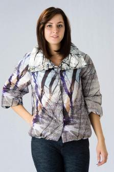 Куртка женская La Fee Maraboutee Мультиколор