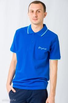 Поло мужское GLENFIELD Синий