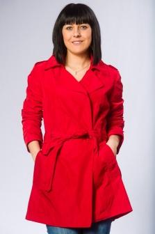 Плащ женский La Fee Maraboutee Красный