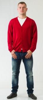 Кардиган мужской GLENFIELD Красный