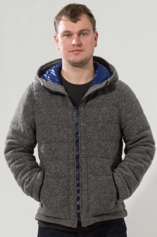 П/пальто мужское ALTATENSIONE Uomo Серый