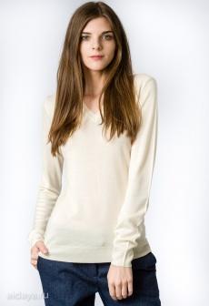 Пуловер женский GLENFIELD Молочный