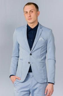 Пиджак мужской ALTATENSIONE Uomo Голубой