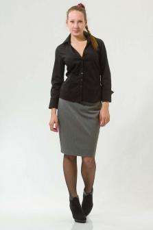 Рубашка женская GLENFIELD Черный