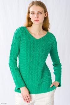 Пуловер женский GLENFIELD Зеленый