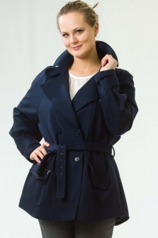 П/пальто женское Irene Van Ryb Синий