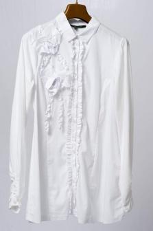 Блуза женская La Fee Maraboutee Белый