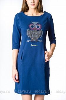 Платье Braccialini Синий