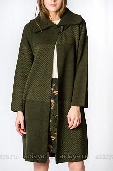 Пальто женское GLENFIELD Зеленый