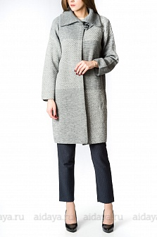 Пальто женское GLENFIELD Серый