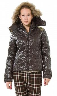 Куртка женская La Fee Maraboutee Коричневый