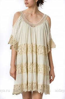 Платье женское Mity Бежевый