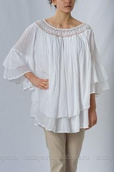 Рубашка женская Mity Белый