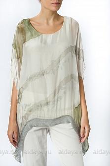 Блуза женская Mity Зеленый