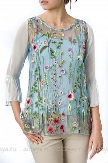 Блуза женская Mity Голубой