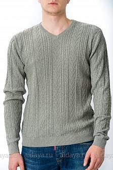 Пуловер мужской GLENFIELD Серый