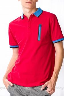 Поло мужское GLENFIELD Красный