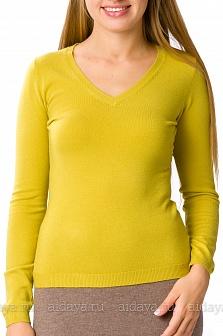 Пуловер женский LOUISE OROP Оливковый
